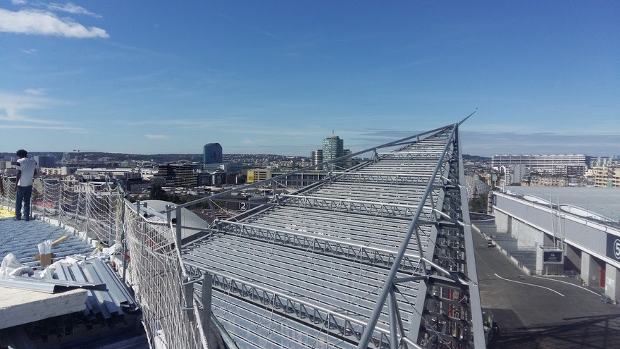 visual of a rooftop