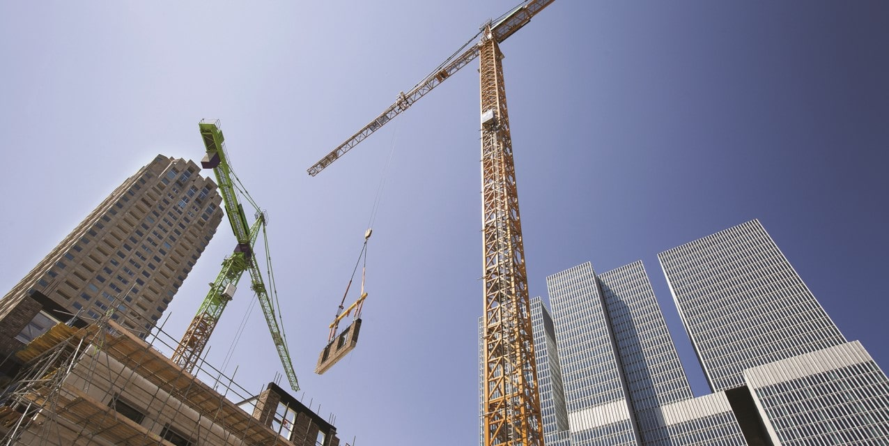 visual of buildings construction